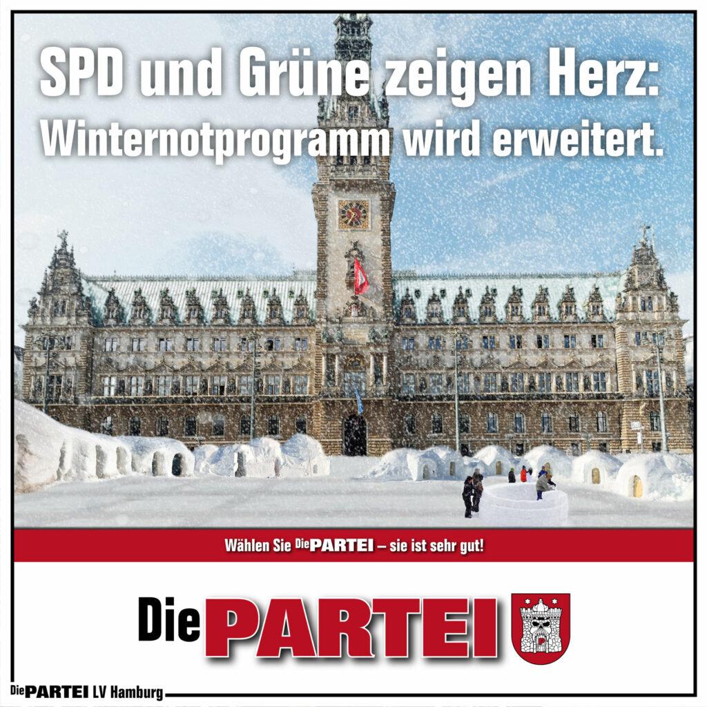 SPD und Grüne zeigen Herz